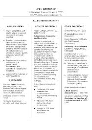 sales representative resume example resume samples for sales