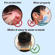<b>Extended</b> Version 8Pcs Ear Hook Strap Buckle for <b>Mask</b> 3 Gears ...
