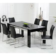dining table sets black
