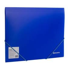 """<b>Папка</b> на резинках <b>BRAUBERG</b> """"<b>Neon</b>"""", неоновая, синяя, до 300 ..."""