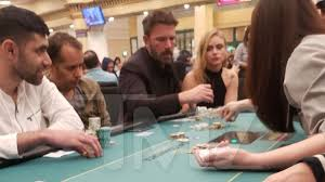 Ben Affleck Plays Poker Wasted at Casino After <b>Halloween Party</b>