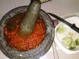 Image result for sambal belacan