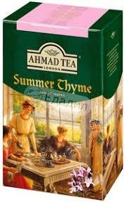 <b>Чай</b> черный <b>Ahmad tea Summer</b> thyme — Едадил