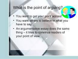 argumentative essay writing teacher slides