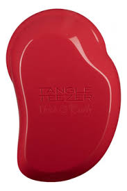 Купить <b>расческа</b> для волос <b>thick</b> & curly salsa red <b>Tangle Teezer</b> ...