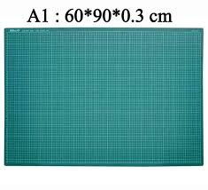 1piece <b>A2 A3 A4</b> A5 self healing <b>Cutting mat PVC</b> Rectangle Grid ...