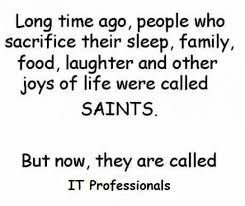 Funny Joke of the day~ IT Professionals | Inspirational Quotes ... via Relatably.com