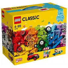 ROZETKA | Конструктор <b>LEGO</b> Classic Кубики и <b>колеса</b> 442 ...