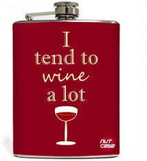 Nutcase <b>I Tend To Wine</b> A Lot Stainless Steel Hip Flask Price in ...