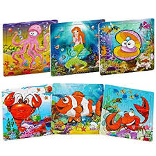 <b>Wooden</b> Puzzles for Kids Ages 2-5, Aitey Toddler <b>Jigsaw Puzzles</b> 20