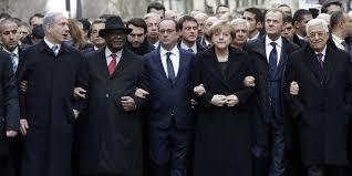 """Résultat de recherche d'images pour """"la  marche  dans  paris   avec   Hollande"""""""