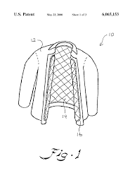 patent us water resistant protective garment for fire patent drawing