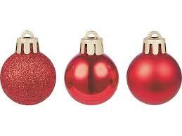 <b>Набор</b> елочных <b>шаров в тубе</b> красные 3 см 9 шт купить по цене ...