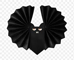 Black <b>Halloween bat</b> sticker design <b>element</b>   Free transparent png ...