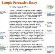 persuasive essay introduction example related