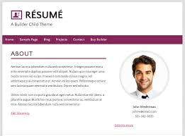 builder child theme resume a great example of a resume website builder child free resume website builder