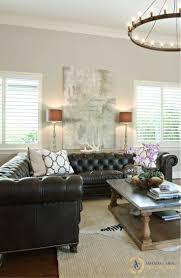 choosing the perfect sofa for your home decor black leather sofa perfect