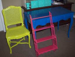 brightly painted furniture make a bold statement bright painted furniture