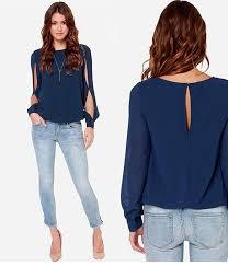 Buy <b>2017</b> Women <b>Summer Chiffon Blouses Shirts</b> Lady Girls Casual ...
