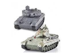 <b>Радиоуправляемый танковый бой</b> Zegan 99820 T-90 vs King Tiger ...