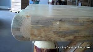 Log Dining Room Tables Nature39s Twist Log Dining Table Log Dining Room Furniture