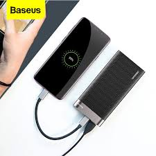 <b>Baseus</b> 20000mAh Power Bank LED <b>Display</b> Quick Charge 3.0 <b>Dual</b> ...