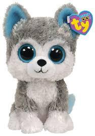 <b>Мягкая игрушка TY Beanie</b> boos Хаски Slush 33 см — купить по ...