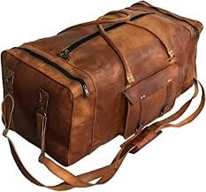 Leather Duffle Bags for Men - Amazon.com