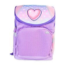 <b>Школьный рюкзак</b> Super Class «Сердечки», <b>Upixel</b>, фиолетовый ...