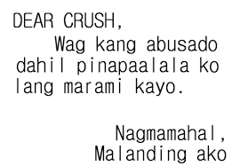 Tagalog Quotes About Crush - Quotes Tagalog About Love via Relatably.com