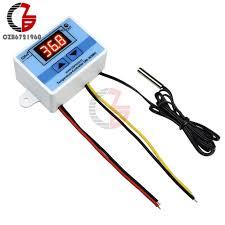 XH W3001 12V 24V 110V 220V LED <b>Digital Thermostat</b> ...