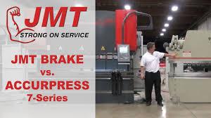 jmt adr press brake vs accurpress series comparison accurpress 7 series comparison