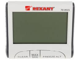 Купить Термогигрометр <b>REXANT 70-0515</b> по супер низкой цене ...