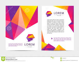 vector document letter or logo style cover brochure and vector document letter or logo style cover stock photo