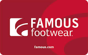 Famous Footwear eGift Card | GiftCardMall.com