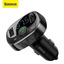 <b>Baseus</b> 3.1A <b>Car</b> Charger Bluetooth 5.0 Adapter FM Transmitter ...