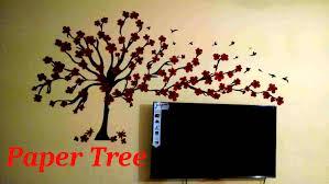 tree wall decor art youtube: wall treepaper wall art youtube diy