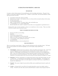 functional resume for felons