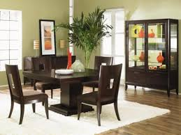 Hardwood Dining Room Table Dining Room Excellent Dining Space Idea Implemented With Dark