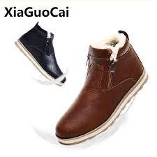 2018 <b>Genuine Leather</b> Men Boots <b>Spring Autumn</b> Winter Man ...