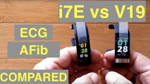 <b>ALFAWISE i7E</b> and BAKEEY V19 Atrial Fibrillation <b>ECG</b> IP68 ...