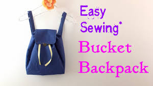**DIY**How to make Buket <b>Backpack</b>.** Easy Tutorial.** - YouTube