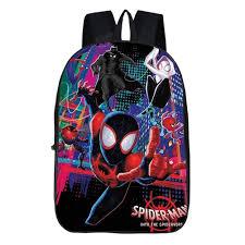 Miles Backpack,3D Superhero Children School Book Bag Kids ...