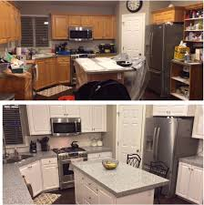 Remodeling Old Kitchen Diy Painting Kitchen Cabinets White Youtube