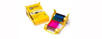 Красящие <b>ленты</b> для печати пластиковых карт