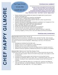 examples of personal statements of chefs resume template example sous personal chef resume onealphaco resume example