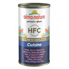 <b>ALMO NATURE</b> HFC <b>CLASSIC Cat</b> TUNA CHICKEN AND HAM 140 ...