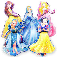 1pcs 42*48cm Small pink blue <b>helium balloon princess</b> crown <b>foil</b> ...