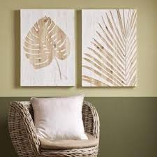 "Graham & <b>Brown</b> 28 in. x 20 in. ""Palm Leaf <b>Laser</b> Cut"" <b>Wood</b> Wall Art ..."