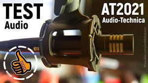 <b>Микрофон Audio</b>-<b>Technica</b> AT2021 Обзор Тест - YouTube